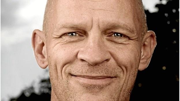 Skuespiller Lars Bom - holder oplæg i forbindelse med det første mande-arrangement i Mariagerfjord 17. august. PR-foto