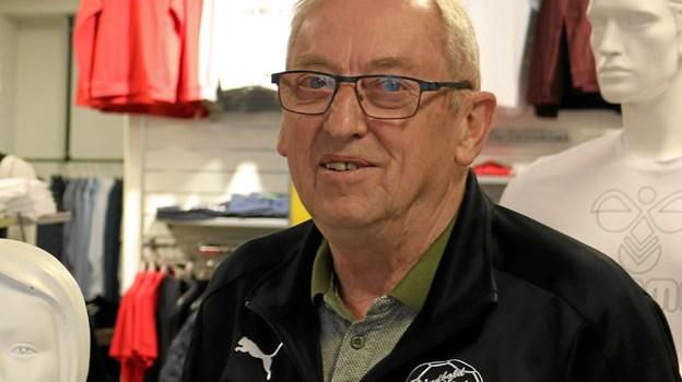 Formand for Sæby H.K. Vagn Frimer Jensen har sammen med bestyrelsen haft et travlt forår med indgåelse af mange nye aftaler med trænere og ikke mindst sponsorere. Foto: Tommy Thomsen