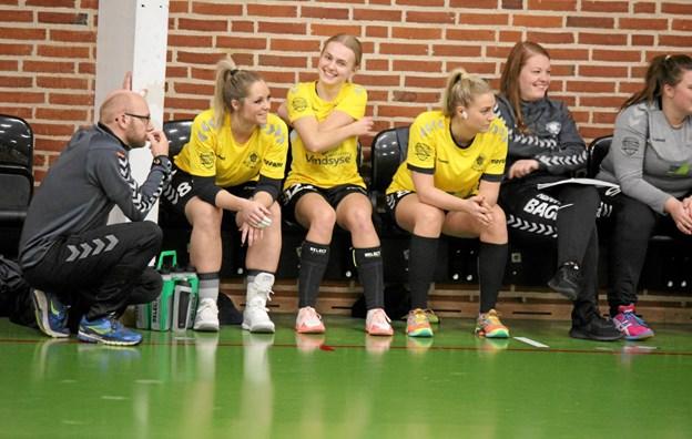 Håndbolddamerne fra ØHIK, Halvrimmen glæder sig til hjemme kampen mod Løgstør torsdag aften.