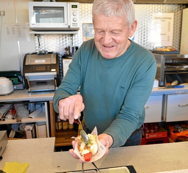 To gange er Hans Jørgens hotdogs blevet kåret til Danmarks bedste. Foto: Jesper Bøss Jesper Bøss