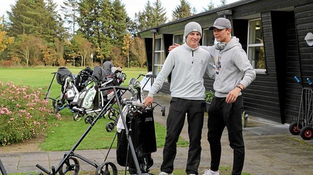 80 Junior golfspillere fra 10 lande var i weekenden samlet i Blokhus. Foto: Flemming Dahl Jensen