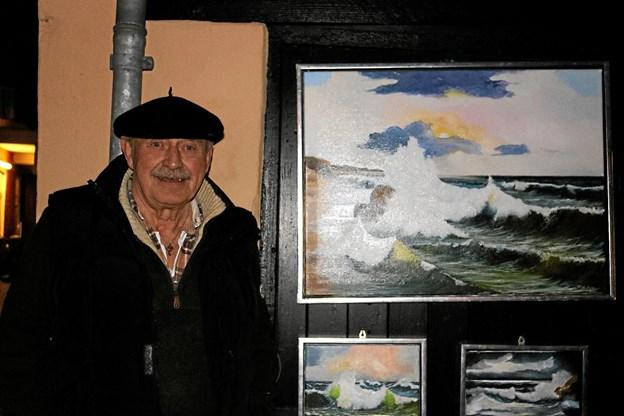 Mogens Hellum skaber en udstilling, der samler industri og kunst
