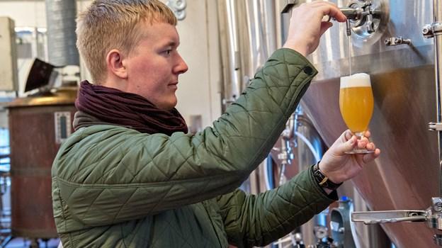 Fredrik Hector Schmidt har inviteret en række bryggerier, som han selv kalder de sejeste på den danske ølscene. Arkivfoto: Kim Dahl Hansen