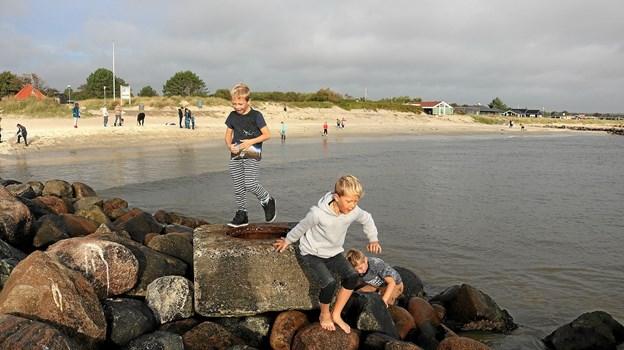 Sæbys strande skal udvikles for at styrke turisterhvervet - og gerne øge omsætningen.
