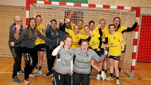 ØHIK har sikret sig 1. pladsen i serie 1. og dermed en oprykningskamp til Jyllandsserien. Foto: Flemming Dahl Jensen