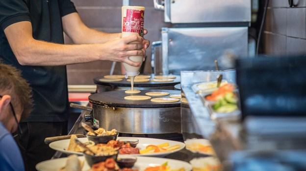 Pandekagehuset i Bådhavnen serverer lækkerier året rundt.
