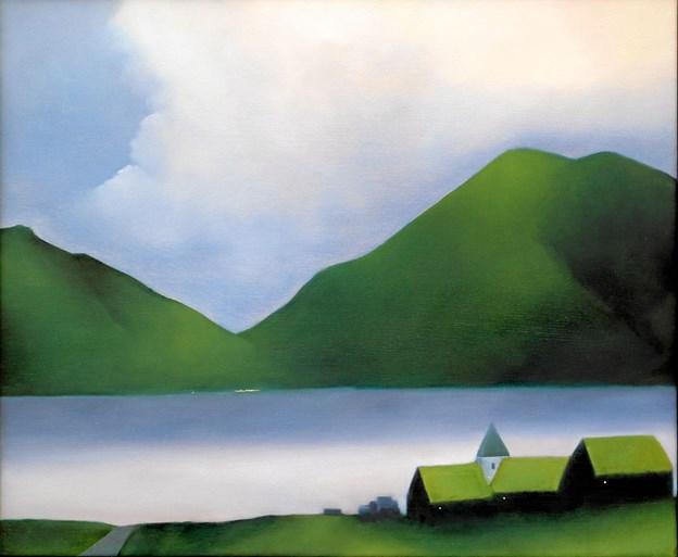 Johnny Schmidt: Færøerne Kirken.