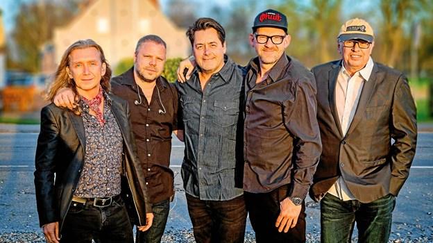 Hardinger Band - spiller i Aars 30. marts. PR-foto