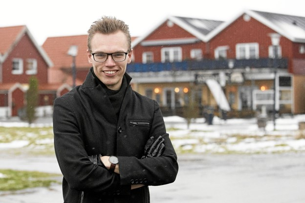 21-årige Frederik Jørgensen fra Hals har startet udlejningsportalen LejLokalt.dk Foto: Allan Mortensen
