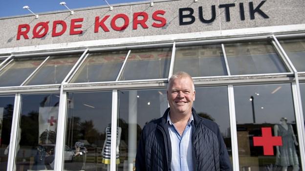 Genbrugsbutikken på Ny Kærvej huser også organisationens lokale kontor. Foto: Laura Guldhammer