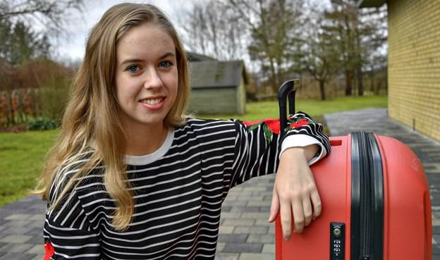 20-årige Mie Nymann Jensen er på vej til Japan for at studere på International College of Liberal Arts. Foto: Kurt Bering