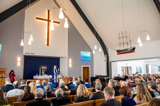Kirken omdannes til en sand julestue, når spejderne holder julebasar