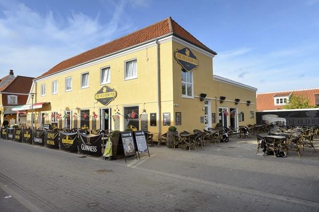 Old Irish Pub, der nu er lukket, har været med til at skrue op for volumen i støjdebatten. Arkivfoto: Peter Broen