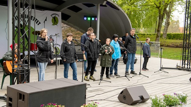 Springbræt Festival i Hedelund. Foto: Henrik Louis HENRIK LOUIS