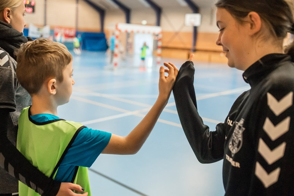 De frivillige fra både børnenes egne klubber og Trekroner var med til at gøre stævnet til noget ganske særligt. Foto: Martin Damgård Martin Damgård