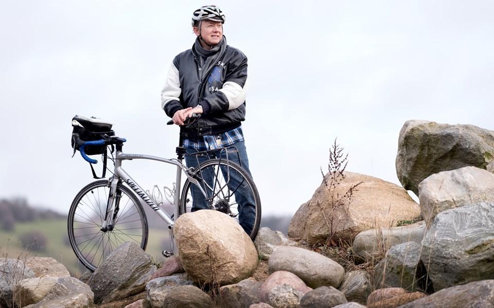 Lars Nielsen, Hobro, retter blikket mod nye cykeludfordringer ude i den store verden.