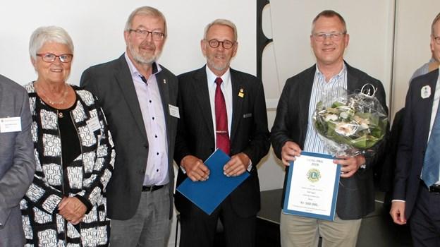 Præsident Henrik Ulrick Poulsen repræsenterede klubben på Lions årsmøde. Privatfoto