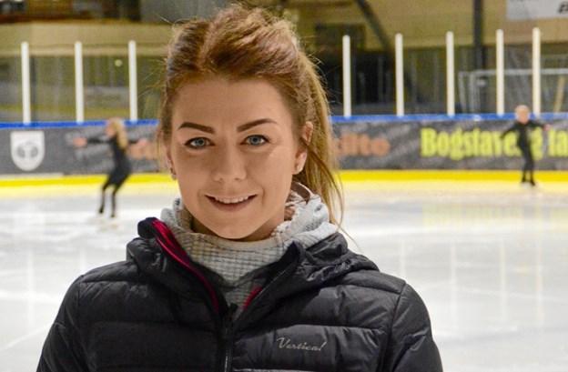 Frederikshavn Skøjteforening har netop fået den kun 28-årige træner, Kristín Helga Hafbórsdóttir fra Island med i klubben.