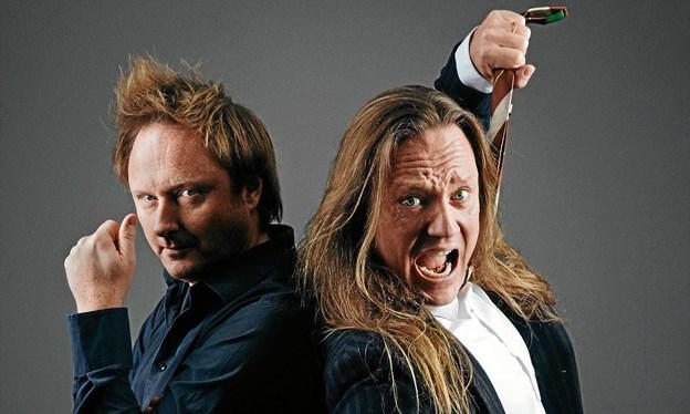 Thomas Geuken og Jesper Binzer aflyser.pr-foto