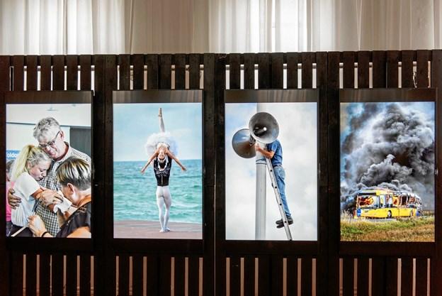 NORDJYSKEs pressefotografer viser 500 fotos på udstillingen. Foto: PixlArt