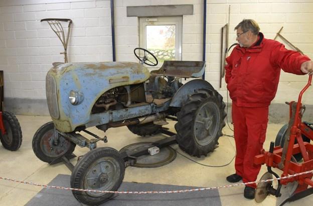 Forårets første tur med Familielandbrugets Seniorklub Thy-Mors går til Morsø Traktormuseum i Outrup.  Arkivfoto: Ole Iversen