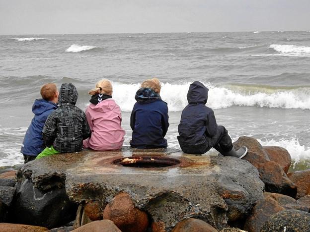 Rul bølger - ruuuul .... Privatfoto.