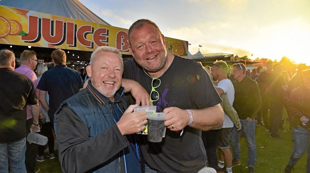 Juice-gutterne festede... Foto: Ole Iversen