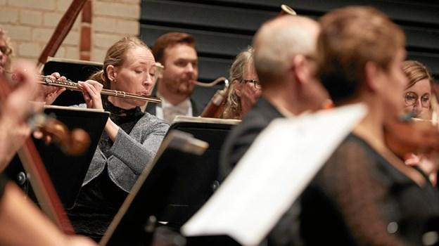 Randers Kammerorkester ?består af hele 14 musikere.