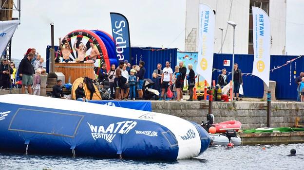 Østre Havn danner igen ramme om vandfestivalen. Foto: Svenn Hjartarson