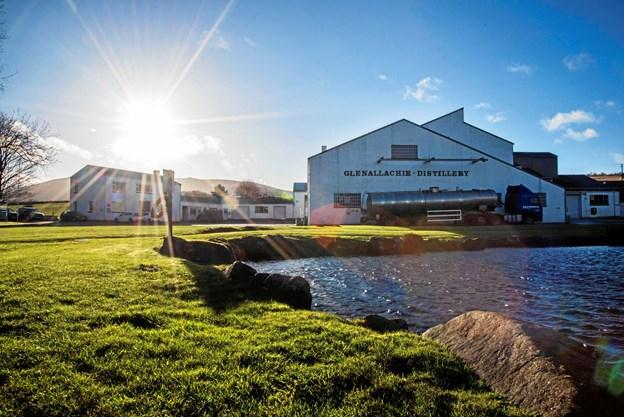 Destilleriet GlenAllachie ligger på Speyside i det skotske højland. Privatfoto