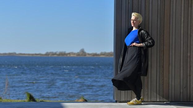 """Solvej Nygaard Gregersen er også sanger og sangskriver. Sidste år udgav hun debutpladen """"Fra Vestjylland og Hjem"""", der blev indstillet til flere Gaffa-priser. Foto: Claus Søndberg"""