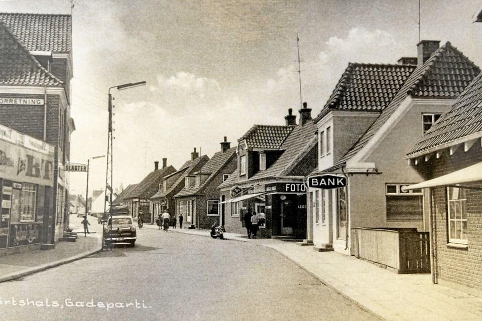Privat fotografi af Hjørringgade fra 1919. Foto: Peter Jørgensen Peter Jørgensen