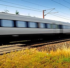 Stadig en stund på halv togdrift