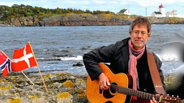 Ragnar Sør Olsen har laver en musikalsk beretning om byens historie,