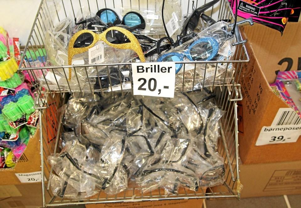 Husk beskyttelsesbrillerne. Foto: Flemming Dahl Jensen Flemming Dahl Jensen
