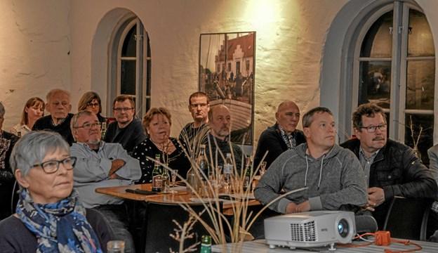 Foredraget er en del af kulturugen AHA, som har præget hele uge 10 i Løgstør. Foto: Mogens Lynge Mogens Lynge