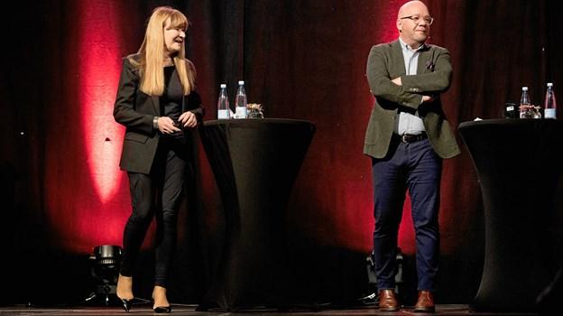 Sundhedsforsker Bente Klarlund og komikeren Lars Hjortshøj og fik en sjov og seriøs snak om, hvordan vi kan leve længere – og ikke mindst bedre.