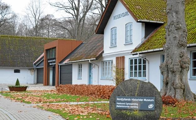 Juleklip og Saks er skiftet ud med spændende fortællinger om den fantastiske samling af julepynt som museet har. Foto: hhr-freelance.dk