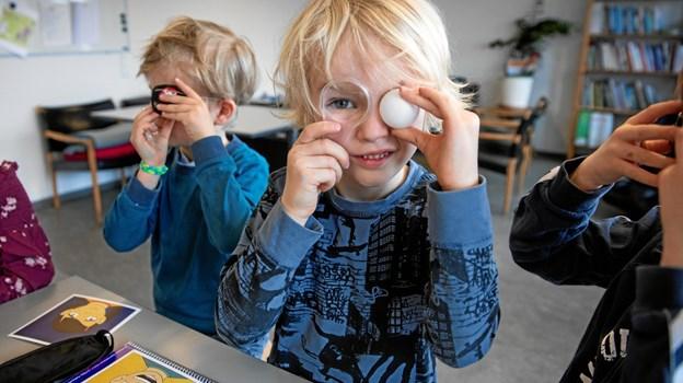 Det skal også være sjovt at lære.PR-foto Søren Kjeldgaard