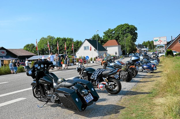 Motorcykler for enhver smag. Foto: Jesper Bøss