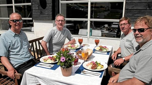 Gæster fra storbritanien besøgte Tversted Strandkro. Foto: Peter Jørgensen Peter Jørgensen