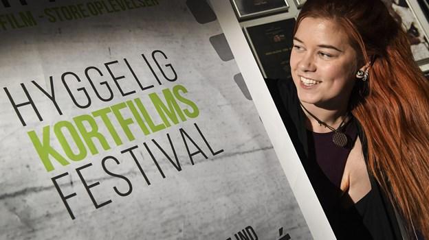 Filmkraft - og her leder Naja Ravn-Jensen - er klar til at åbne for tilmelding til årets festival. Det fejres med gratis filmfremvisning i Biffen. Arkivfoto: Bent Bach