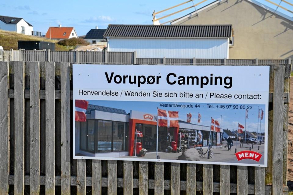 Pladsen har skiftet navn til Vorupør Camping. Privatfoto: Kim Poulsen