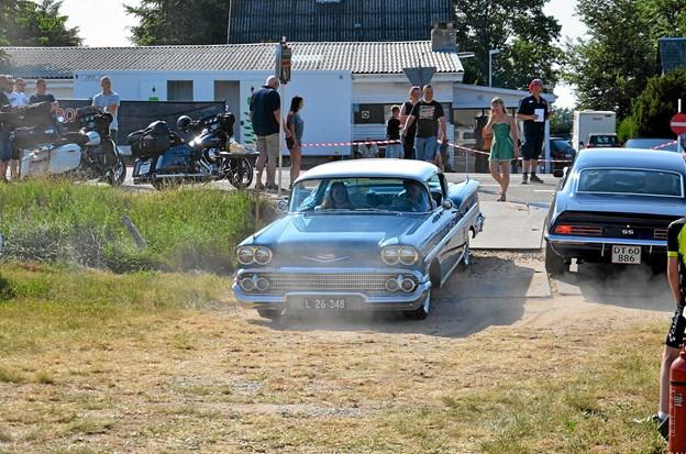 Hele dagen igennem ankom nye gæster og nye biler. ?Foto: Jesper Bøss