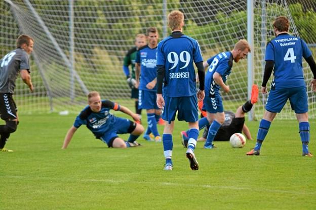 I denne uge er træningen til den kommende sæson startet - og snart er græsset grønt igen... Foto: Privat Privat