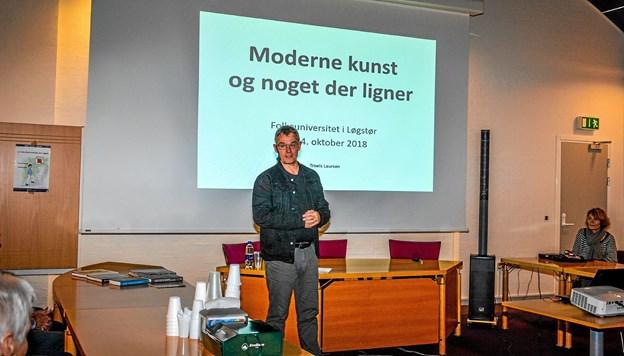 Sognepræst, sygehuspræst og kunstkritikker Troels Laursen Foto: Mogens Lynge