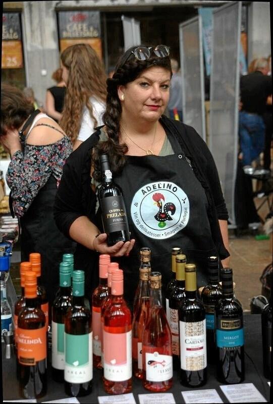 Christina da Silva, der er halv portugiser, står bag butikken. Privatfoto
