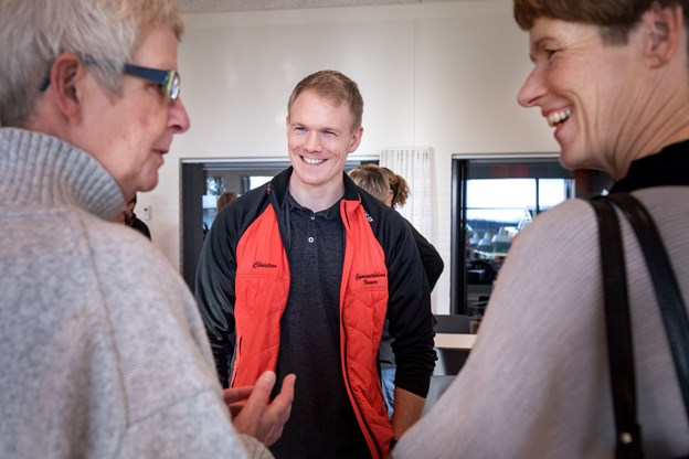 Den lokale gymnastikforening fylder 30 år og fejrer det med sang og spring. Torben Hansen