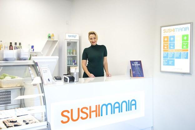 Nathalie Ina Kühl er glad for, at eatlow nu igen bliver en del af SushiMania-familien.Arkivfoto: Laura Guldhammer