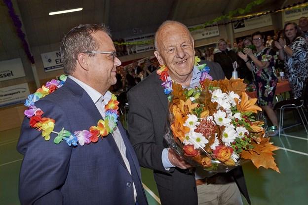 Formand Claus Svendsen og Jens Sejling. Foto: Henrik Bo